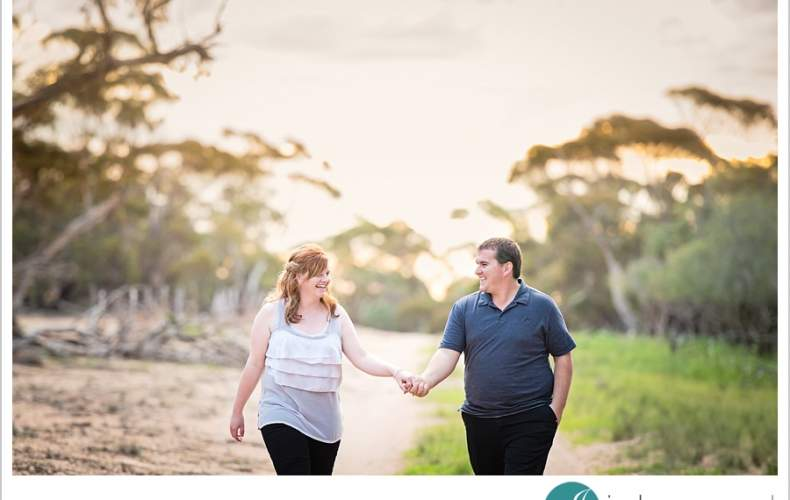 Sunset Engagement Photos | Jessica + Jethro