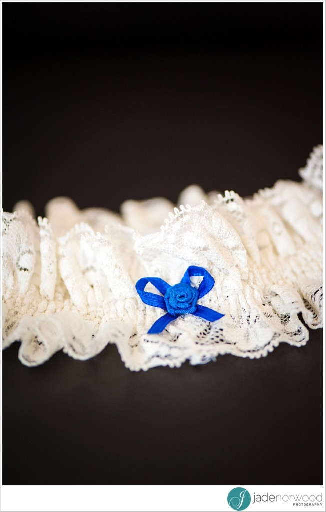 ideas for something blue on your wedding day