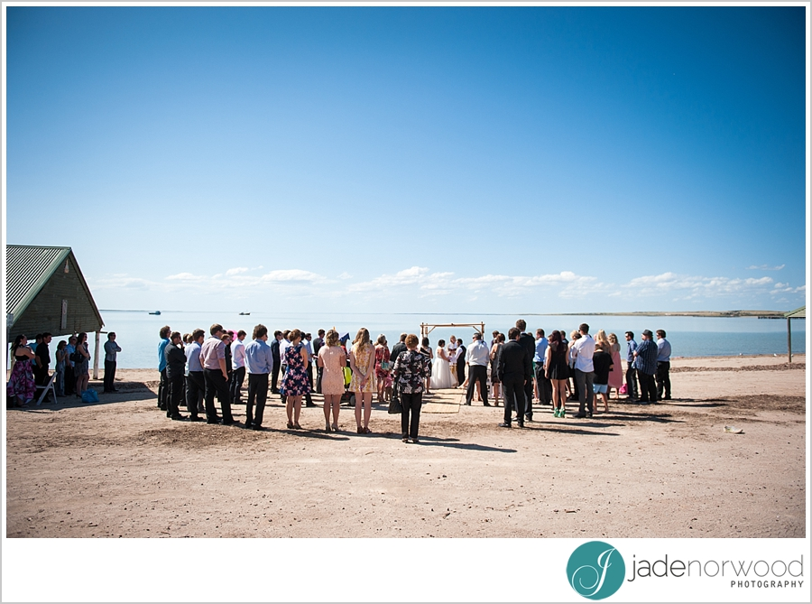 streaky bay wedding photos