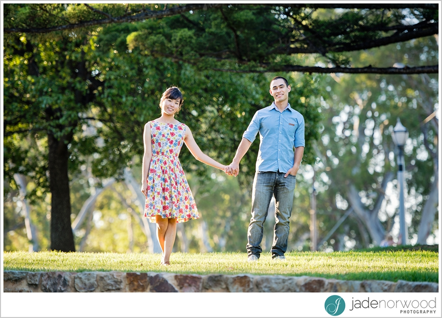adelaide university partners engagement couple photos