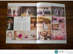 Real Wedding Feature in Modern Wedding Magazine