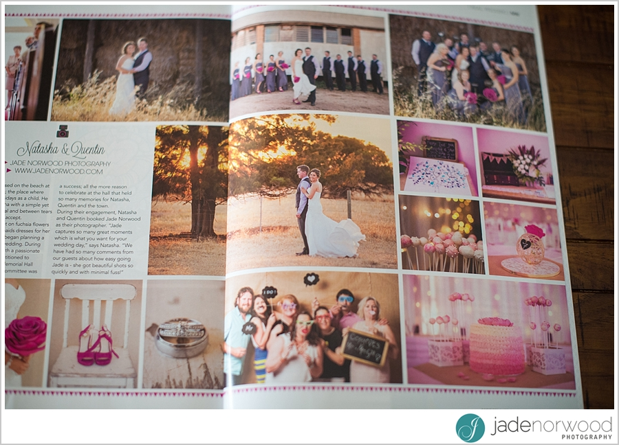 real wedding feature modern wedding magazine