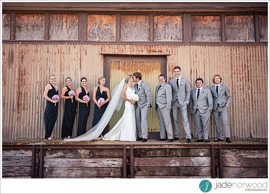 classy wedding bridal party photos