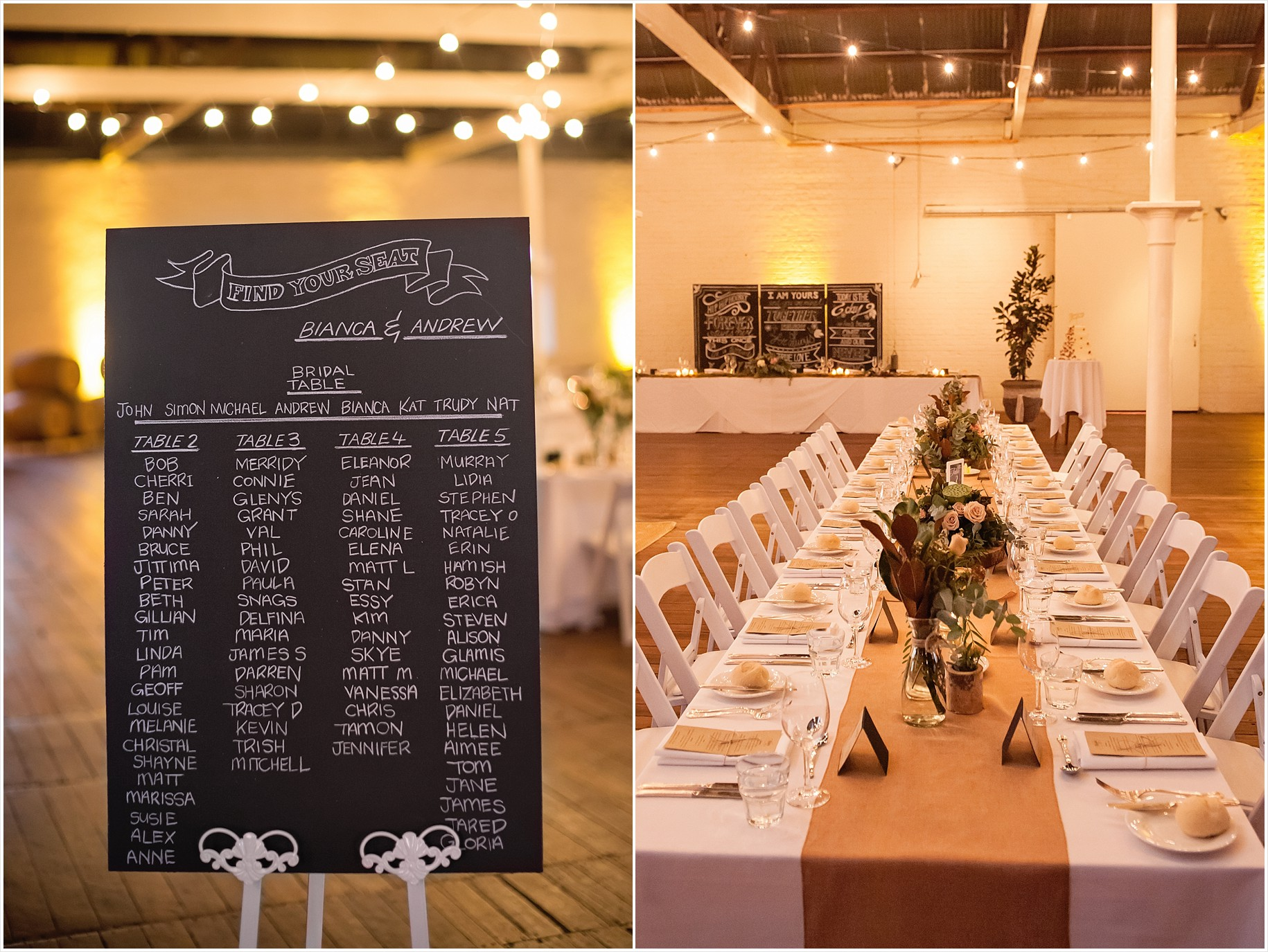 chateau tanunda barossa wedding photos rustic modern