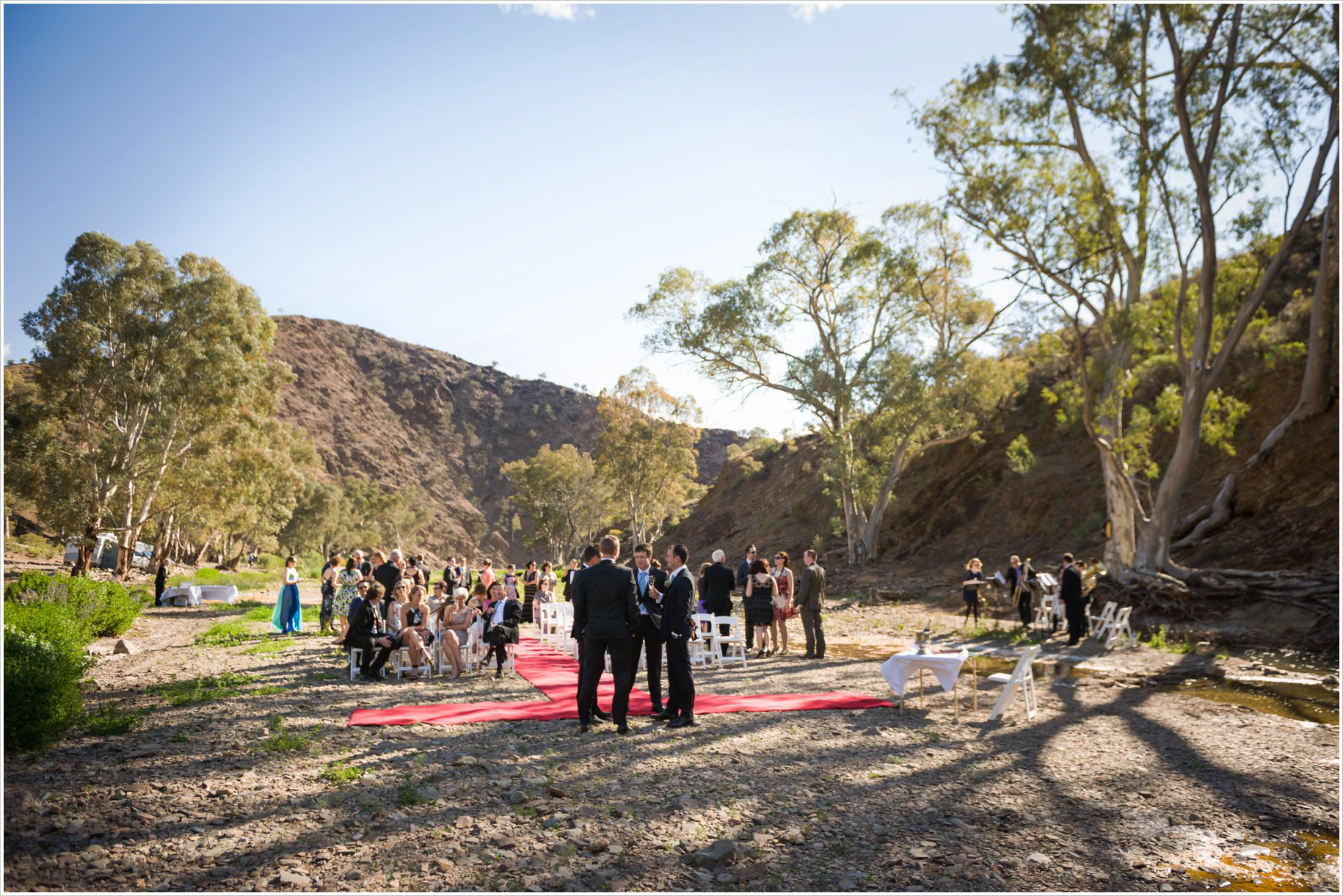 parachilna gorge wedding