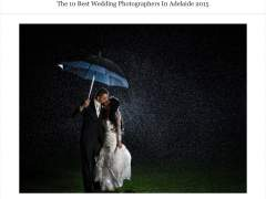 Adelaides Top Ten Wedding Photographers