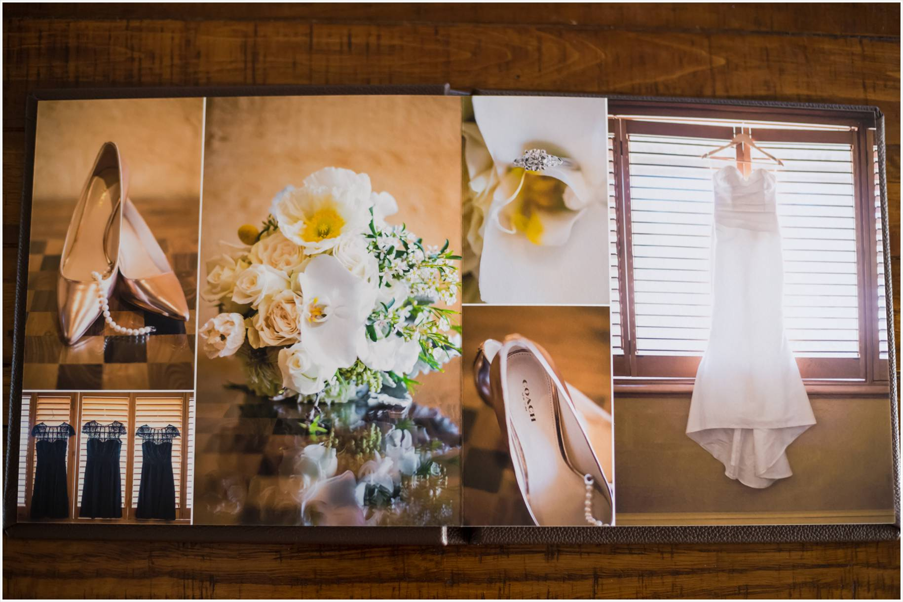 wedding album elegant luxurious photos
