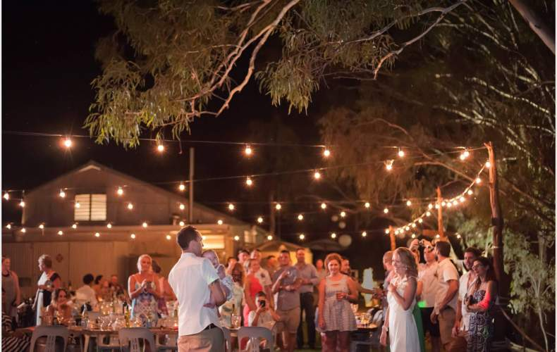 wilkadene woolshed riverland outdoor wedding