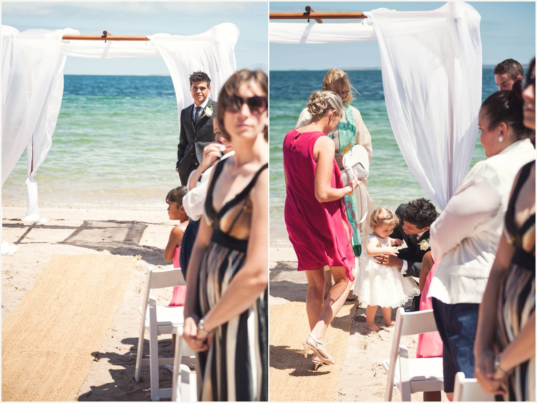 sentimental beach eyre peninsula wedding