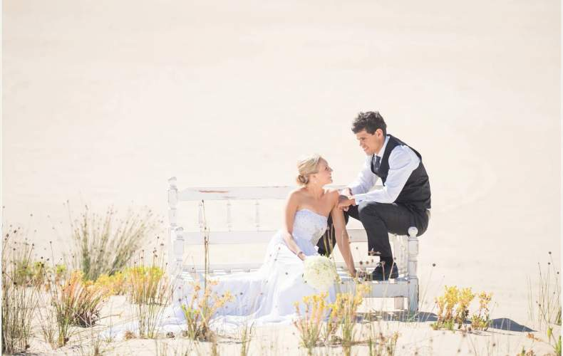 Skye + Josh's Beach Wedding
