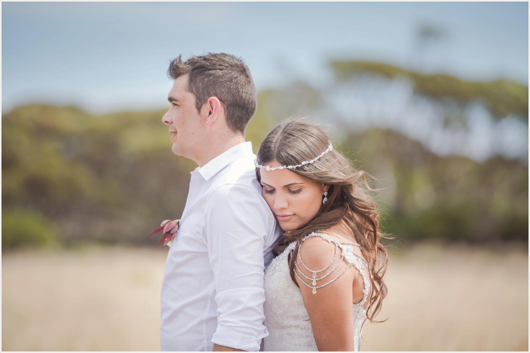love in the bush wedding photographer