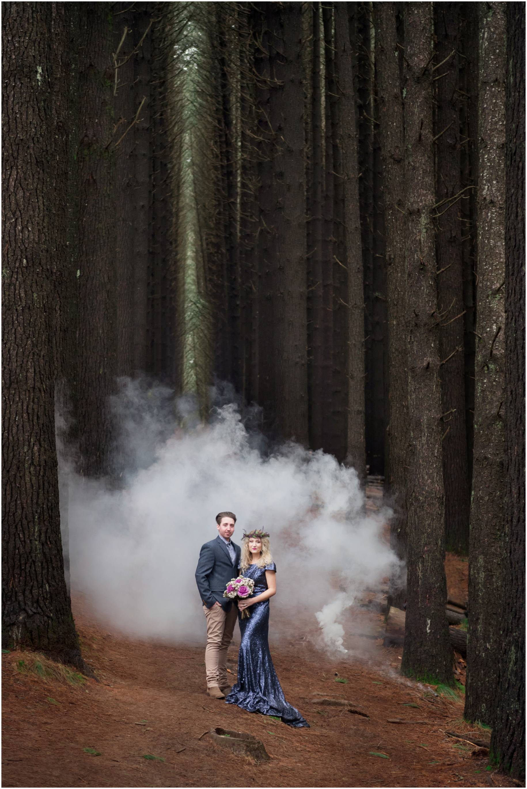 styled engagement photos