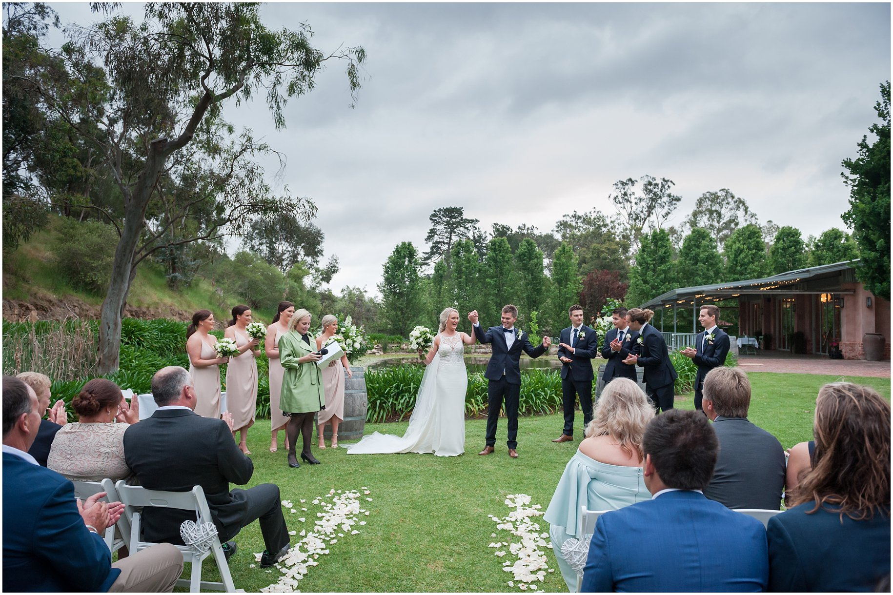 gate house glen ewin state wedding