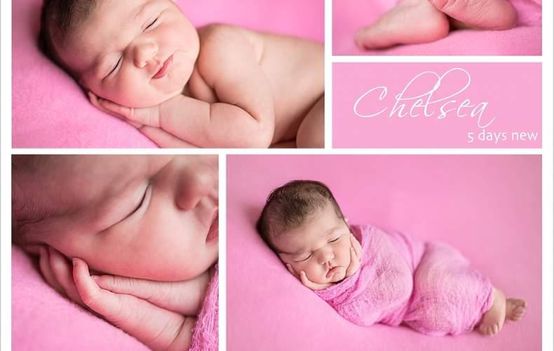 Welcome Chelsea | Newborn photos