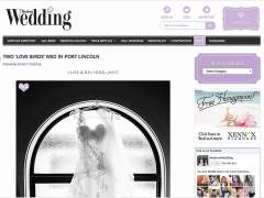 Moroney's Wedding Featured On Modern Wedding