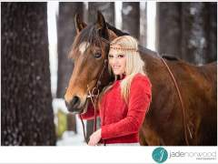 Chelsea and Junior – Equine Portraits
