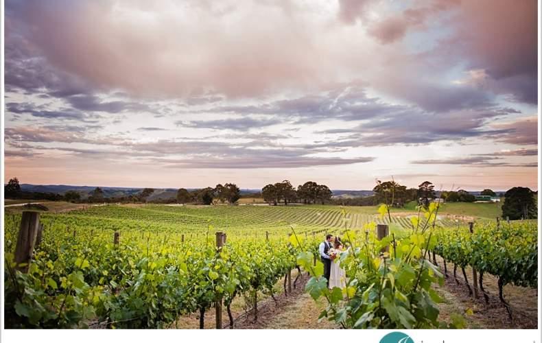 Jess & Mark's Adelaide Hills Winery Wedding