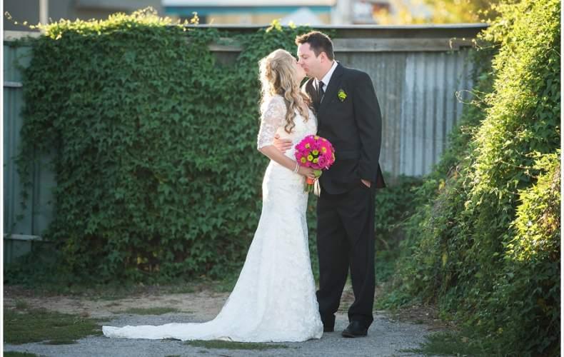 Brooke and Brenton's surprise wedding