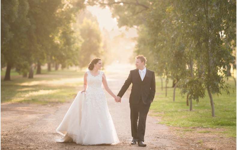 Amanda + Mark's Wedding
