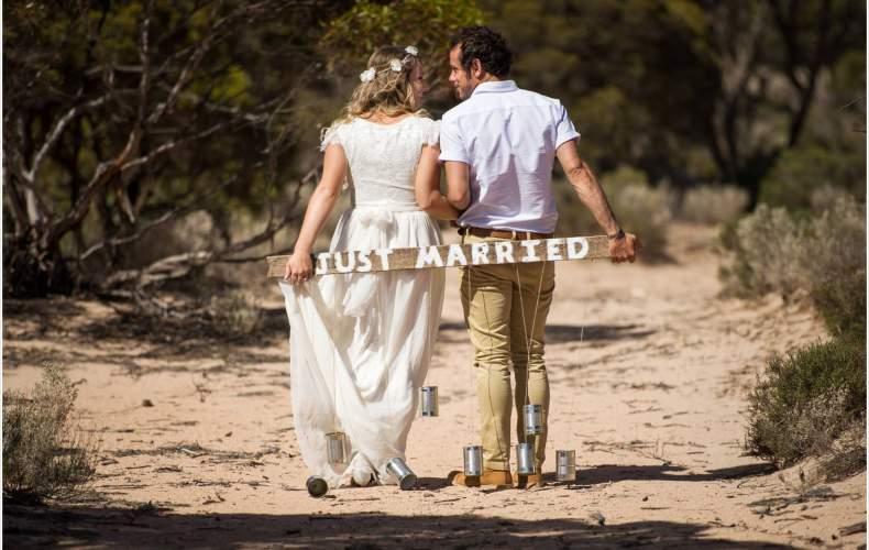 Elise + Aaron's wedding featured on Love Cherish Adore