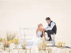 Skye + Josh's Beach Wedding
