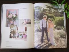 Abbey + Michael's Wedding featured in Brides Of Adelaide Magazine